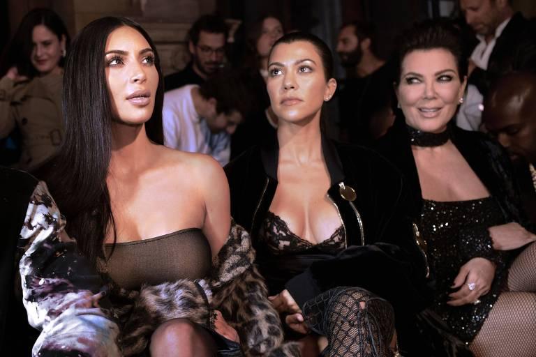 Kim Kardashian, Kourtney Kardashian e Kris Jenner