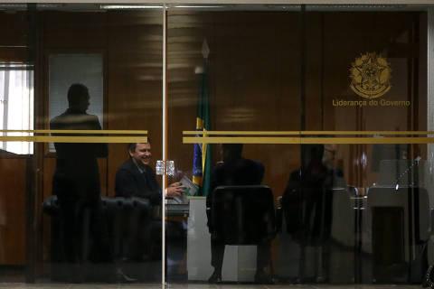 Defesa de líder do governo diz que ação da PF é retaliação de Moro