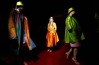 Peter Pilotto catwalk show at Milan Fashion Week