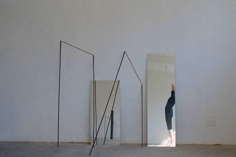 Obra de Maria Noujaim que integra a coletiva Comigo Ninguém Pode