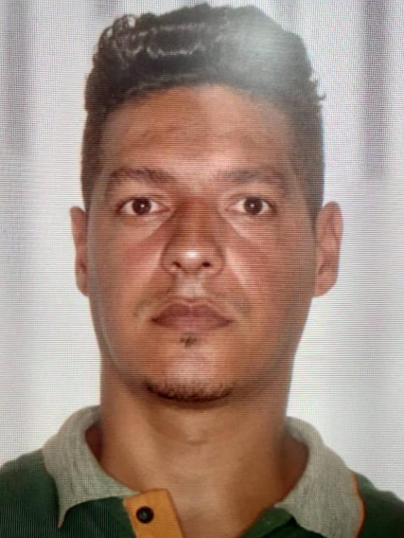 Elvis Souza Leite, 41 anos, motorista de carro de aplicativo morto em uma tentativa de assalto