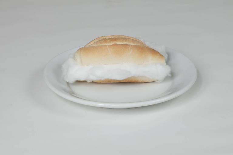 sanduíche de algodão