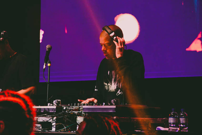 KL Jay em show do Racionais MC's na turnê comemorativa de 30 anos, no ginásio Nilson Nelson, em Brasília