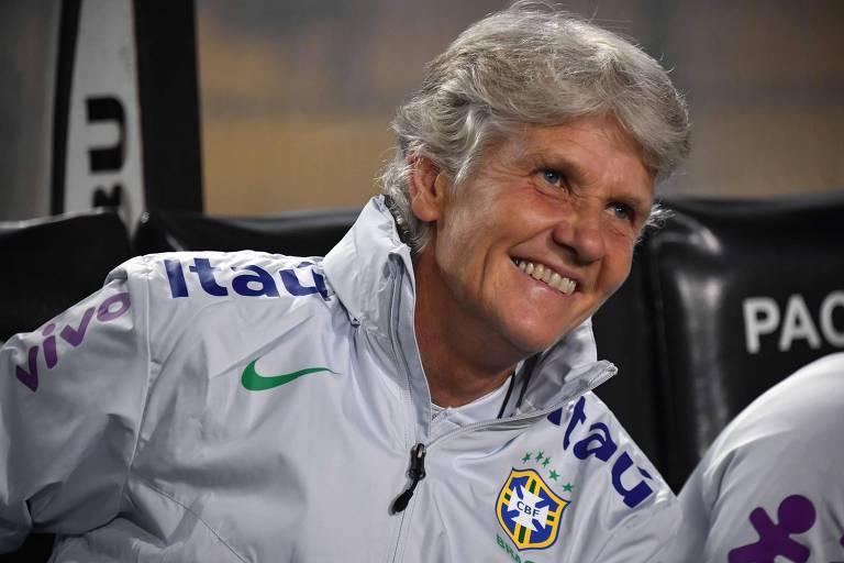 Pia Sundhage, técnica da seleção brasileira