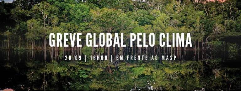 Arte preparada pelo designer Rico Lins para a Greve Global