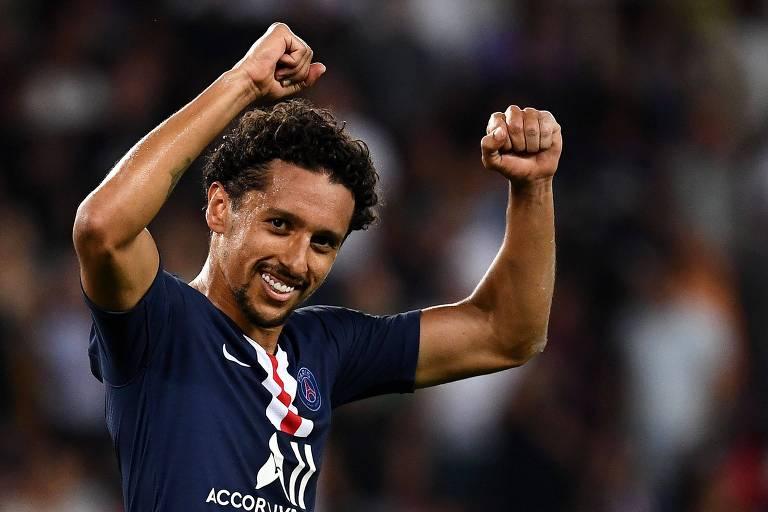 O zagueiro Marquinhos não é um dos holofotes do Paris Saint-Germain e cairia como uma luva no Corinthians