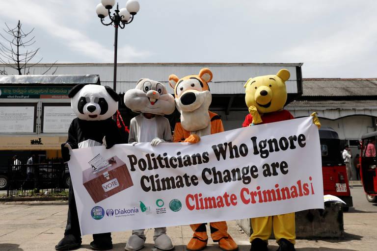 Greve global pelo clima, em 2019