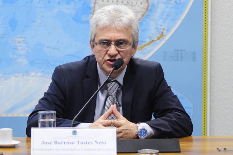 Secretário especial da Receita Federal, José Barroso Tostes Neto
