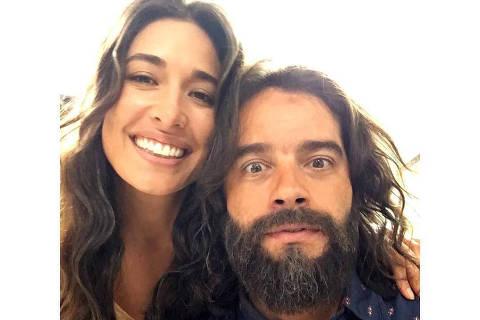 Guilherme Winter com a ex- namorada Giselle Itié