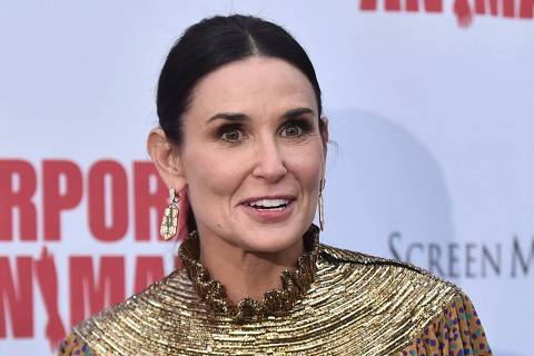 HOLLYWOOD, CALIFORNIA - SEPTEMBER 18: Demi Moore attends the L.A. Premiere of Screen Media's