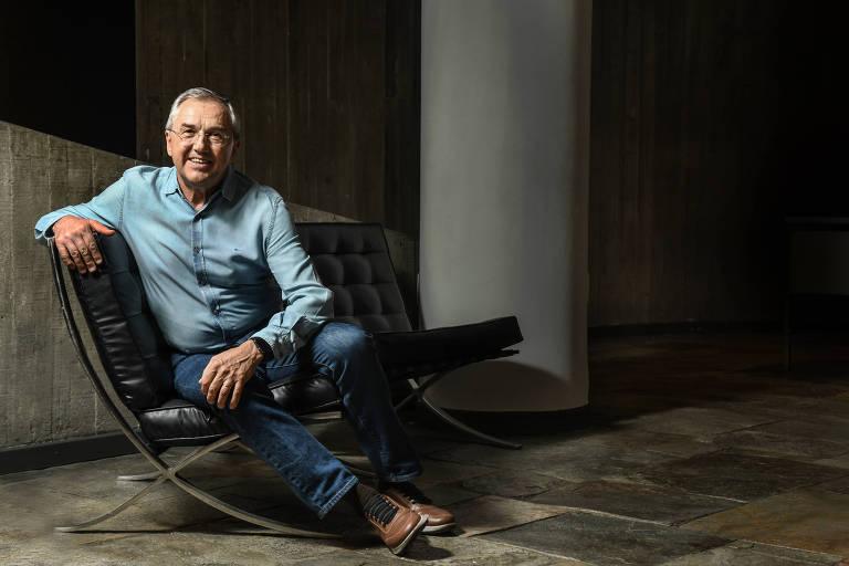 O escritor Laurentino Gomes