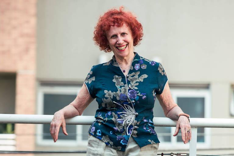 Shoshana Signer, uma das fundadoras da editora Oficina de Textos