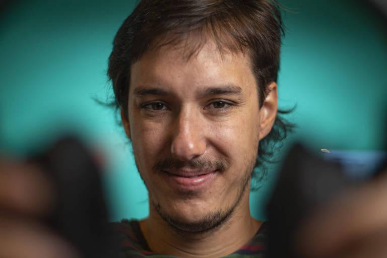 Gabriel Andrade, curador e cofundador do  Festival Coala, que acontece em São Paulo
