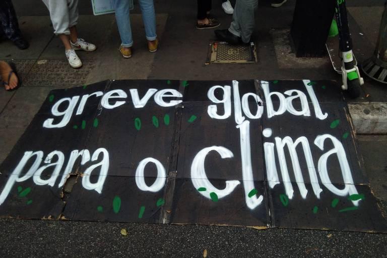 Marcha do Clima em São Paulo