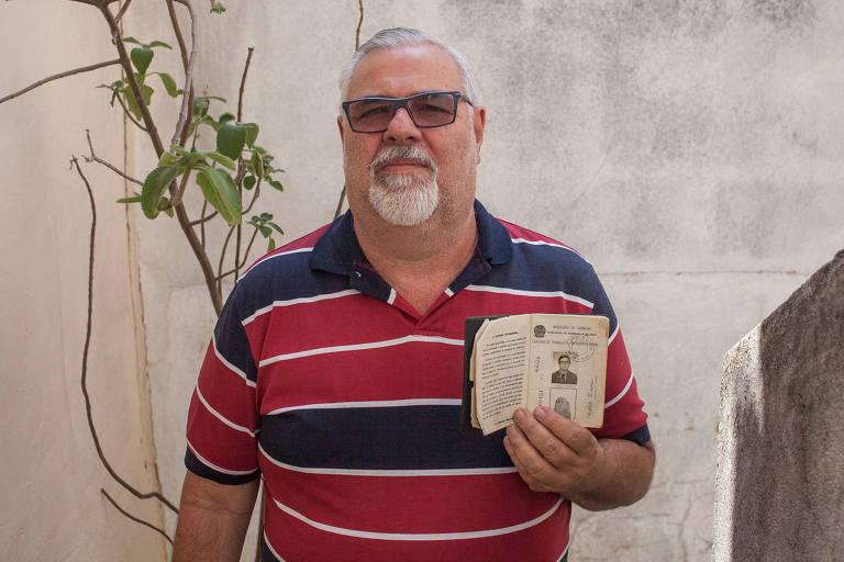 Hélio Baisi, 58 anos, solicitou a aposentadoria com fator, pois não atinge os 96 pontos exigidos para o benefício integral; desempregado, o segurado contribuiu como autônomo nos últimos três anos