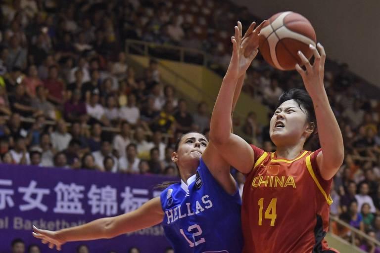 Basquete feminino é uma das modalidades que terão maior discrepância entre os diferentes gêneros (Xinhua/Liu Kun)