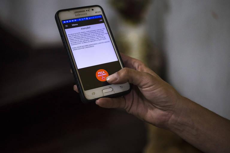 Botão do pânico em aplicativo de celular já levou 5 à delegacia