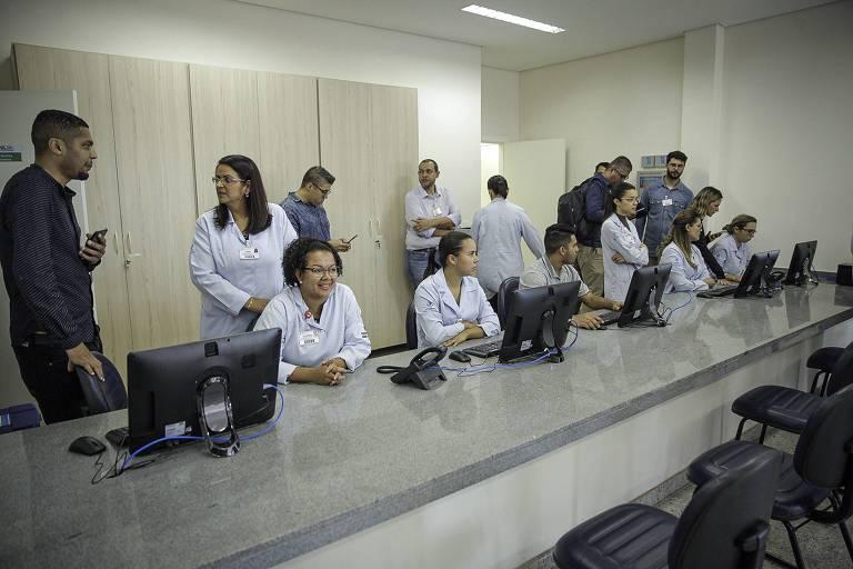Funcionários da UPA (Unidade de Pronto Atendimento)