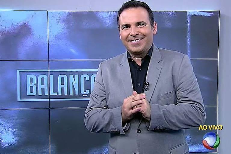 Reinaldo Gottino, que apresentava o 'Balanço Geral' da Record, e foi contratado pela CNN