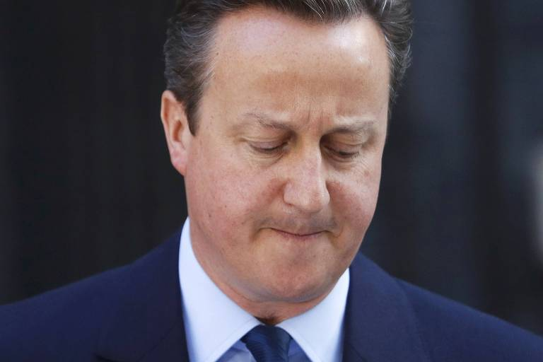 David Cameron, após Grã-Bretanha votar para deixar a União Europeia, em junho de 2016.