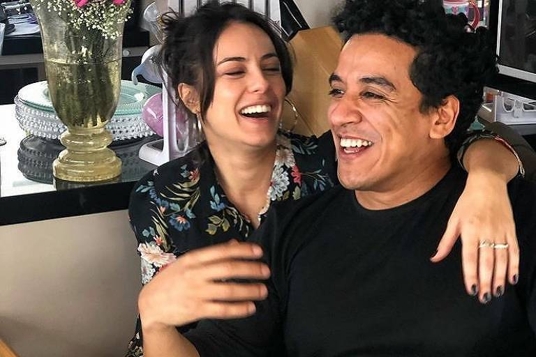 Andréia Horta e Marco Gonçalves se casam