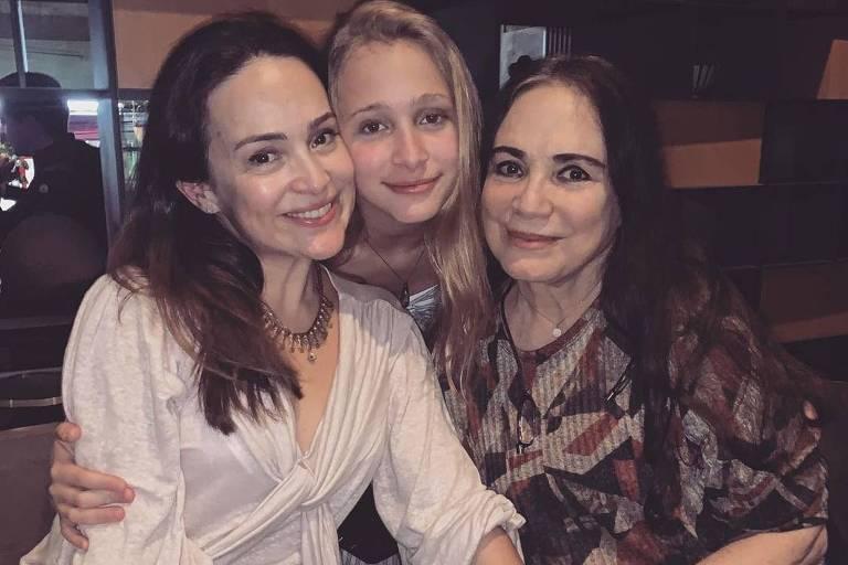 Mãe, filha e neta: 3 gerações de Regina Duarte