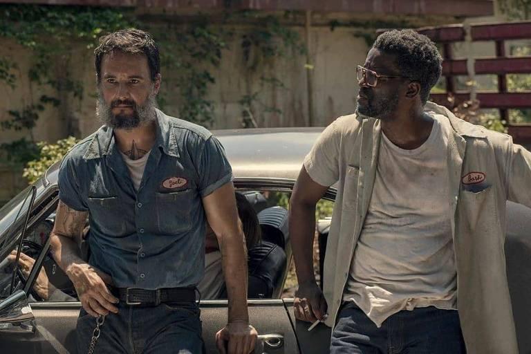 "Rodrigo Santoro na série ""Reprisal"", da Hulu"