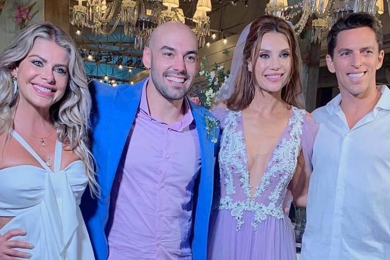 Casamento de Amilcare Dallevo Neto e Júlia Pereira