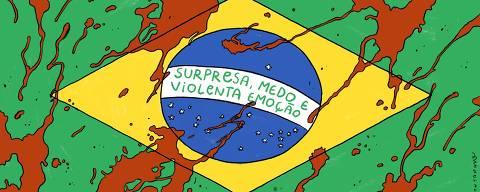Charge de João Montanaro para Opinião de 23.set.2019