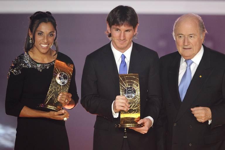 Os prêmios de melhor do mundo de Lionel Messi