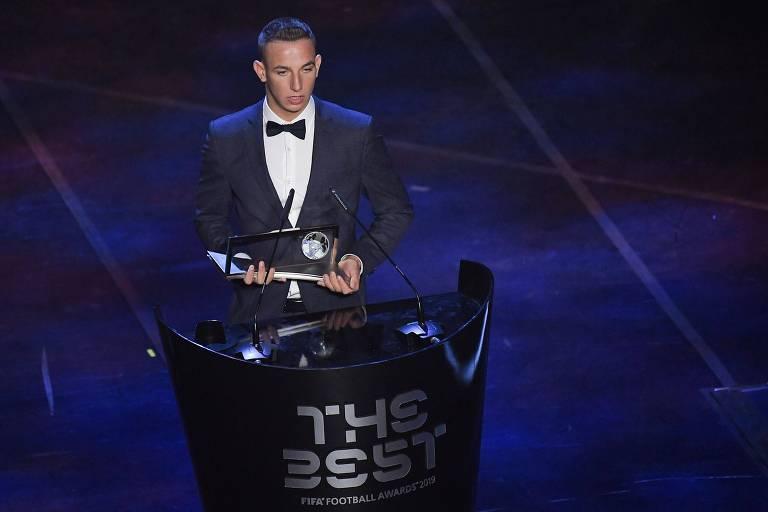 Os vencedores do prêmio The Best, da Fifa, em 2019