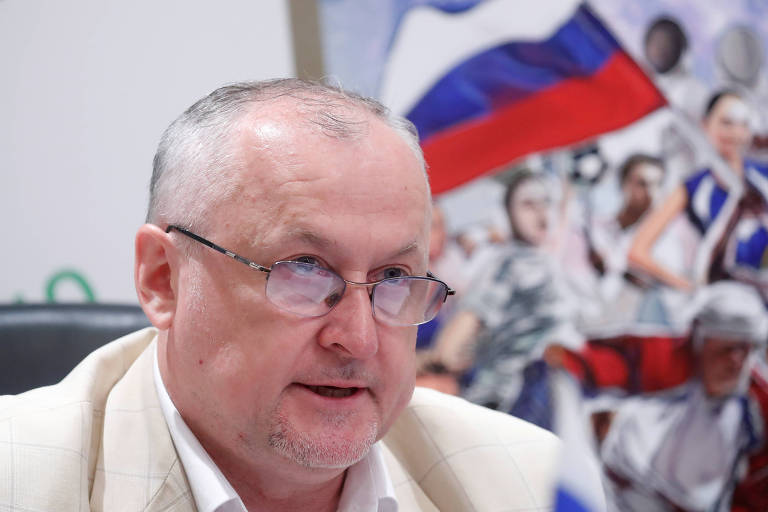 Yuri Ganus, presidente-executivo da agência antidoping russa