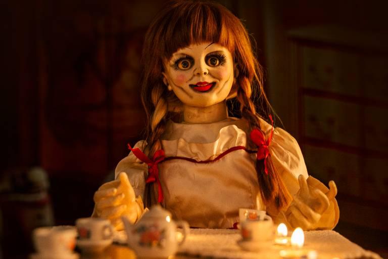Boneca Annabelle usada no filme Invocação do Mal estará na Horror Expo