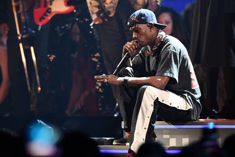 Veja imagens do rapper Travis Scott