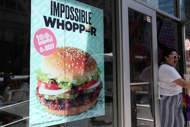 Hambúrguer vegano da Impossible Foods imita carne bovina