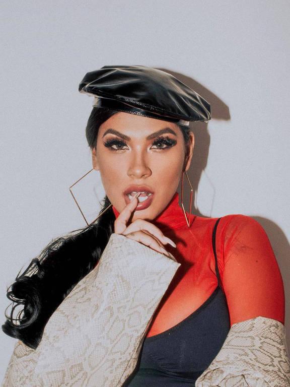Imagens da cantora Pocah