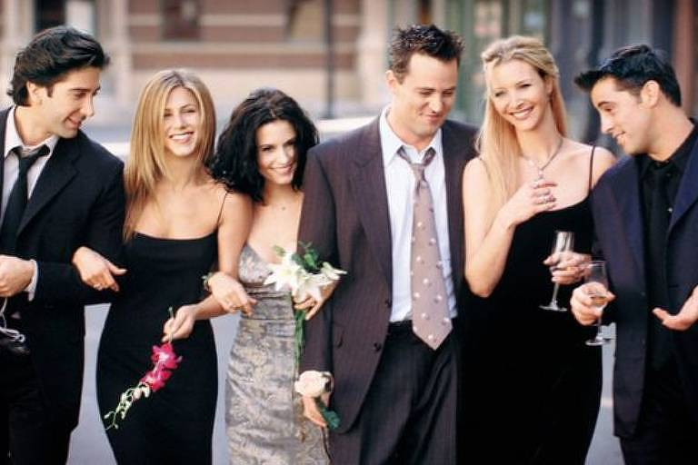 O elenco de 'Friends' estrelou algumas das aventuras mais lembradas na história da televisão