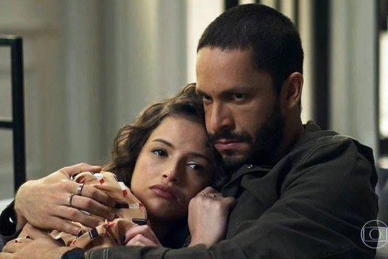 Rainer Cadete e Agatha Moreira em 'A Dona do Pedaço' (2019)