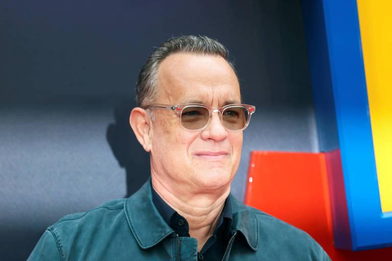 """Tom Hanks na estreia de """"Toy Story 4"""" em Londres"""