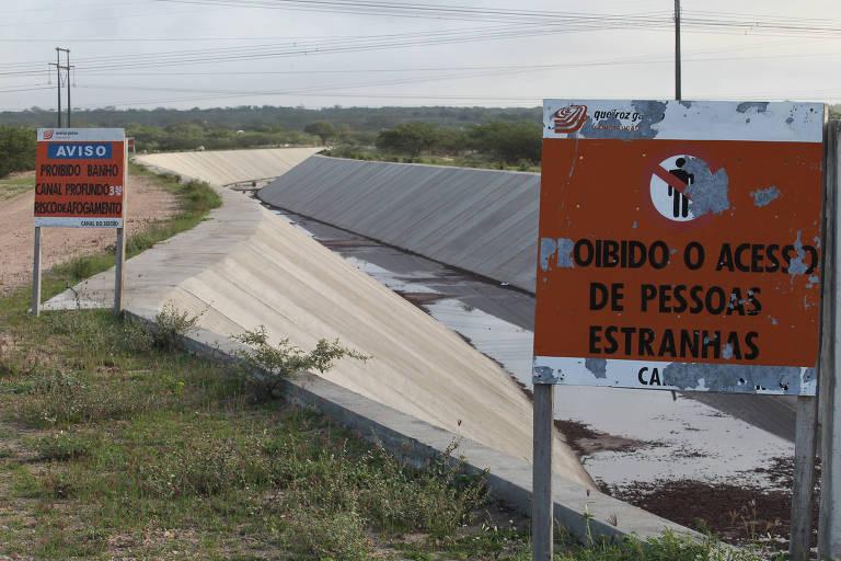 Secretário de Alagoas posta vídeo pedindo a Bolsonaro verba para Canal do Sertão