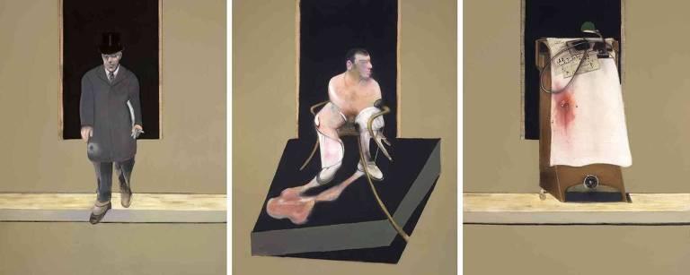 Francis Bacon: Tríptico de 1986-1987 (Estate of Francis Bacon/ADAGP, Paris and DACS, London 2019/Prudence Cuming Associates Ltd)