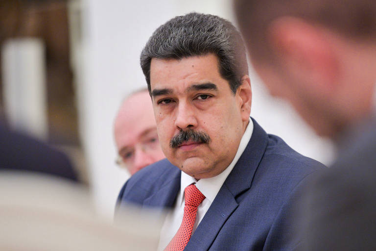 O ditador da Venezauela, Nicolás Maduro