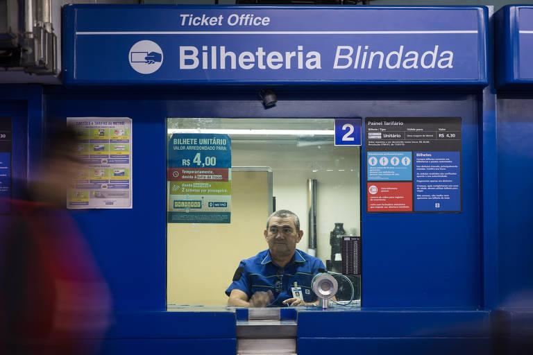 Metrô de SP quer aposentar bilhetes de papel