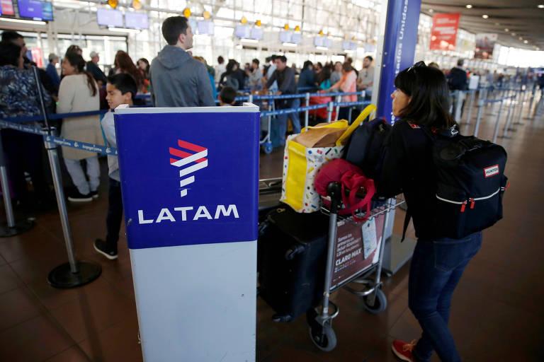 Latam reduzirá voos em 70% devido ao coronavírus