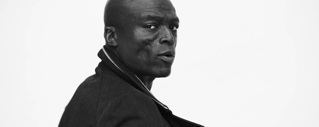 O compositor britânico Seal