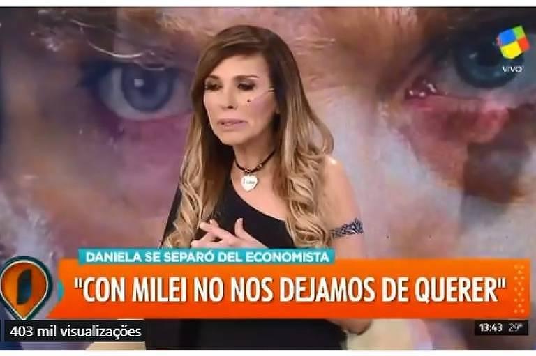 Cantora Daniela Pérez sofre AVC ao vivo na Argentina