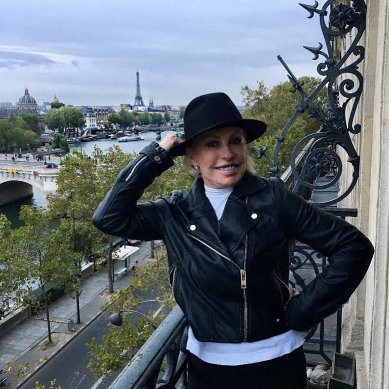 Ana Maria Braga em Paris