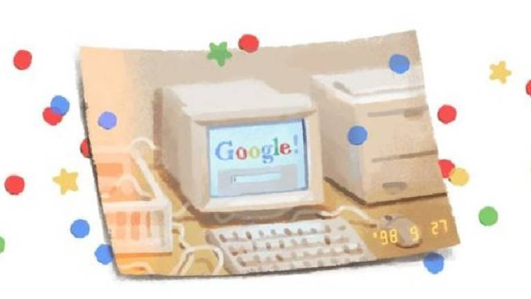Larry Page e Sergey Brin criaram o Google como um projeto de pes