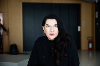 Marina Abramovic at the Museum of Contemporary Art, where a major retrospective of her work has just opened, in Belgrade, Serbia, Sept. 20, 2019. (Marko Risovic/The New York Times)