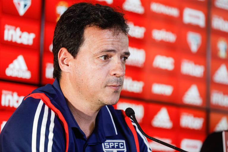 Fernando Diniz é apresentado como novo técnico do São Paulo
